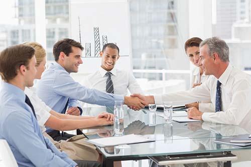 Verkaufstraining-Salesteam